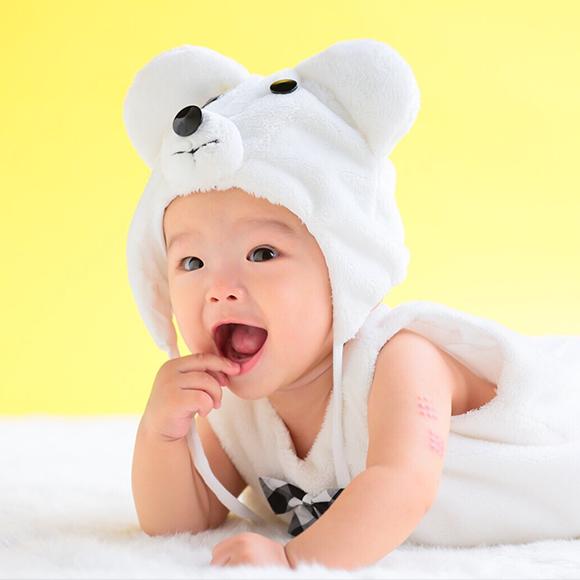 赤ちゃんが安心して撮影に挑むことのできる環境づくり。